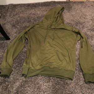 🔴5 for $25🔴Army green sweatshirt hoodie